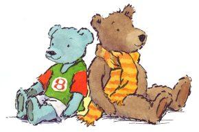 2 Teds x 2