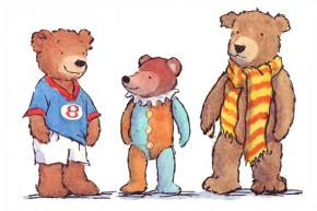 Three Teds x 2