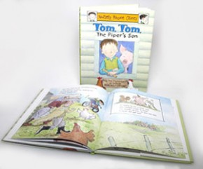 Nursery Rhyme Crimes: TOM TOM THE PIPER'S SON
