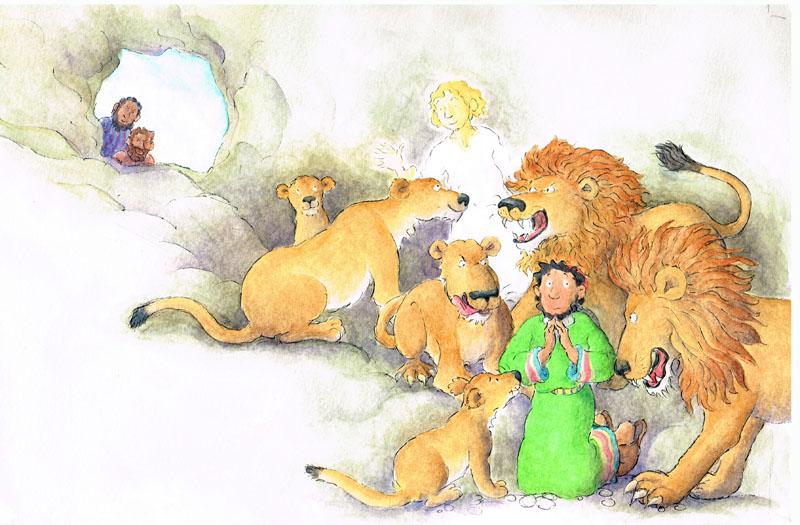 The Lion's Den - size: 340 x 220