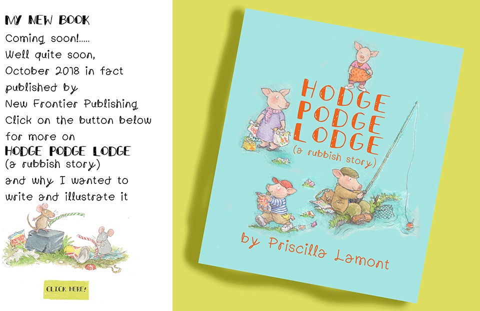 Priscilla Lamont is a children's book illustrator based in Faversham Kent