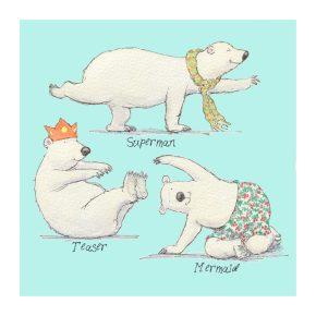 Pilates Polar Bears